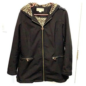 Black Michael Kors rain jacket!